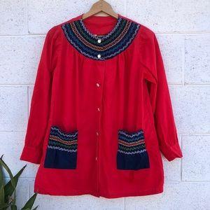 Vintage Boho Tunic Dress